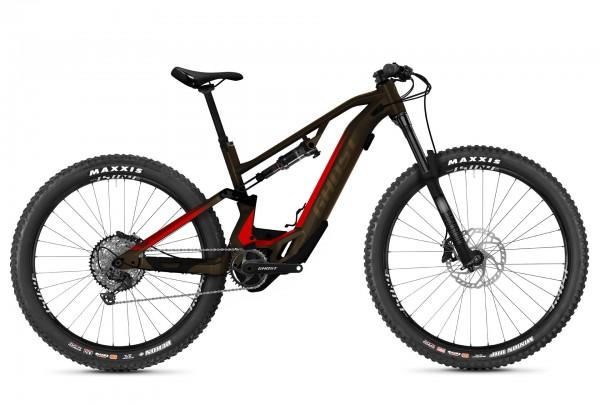 Ghost Hybride ASX Essential 160 AL Braun/Rot