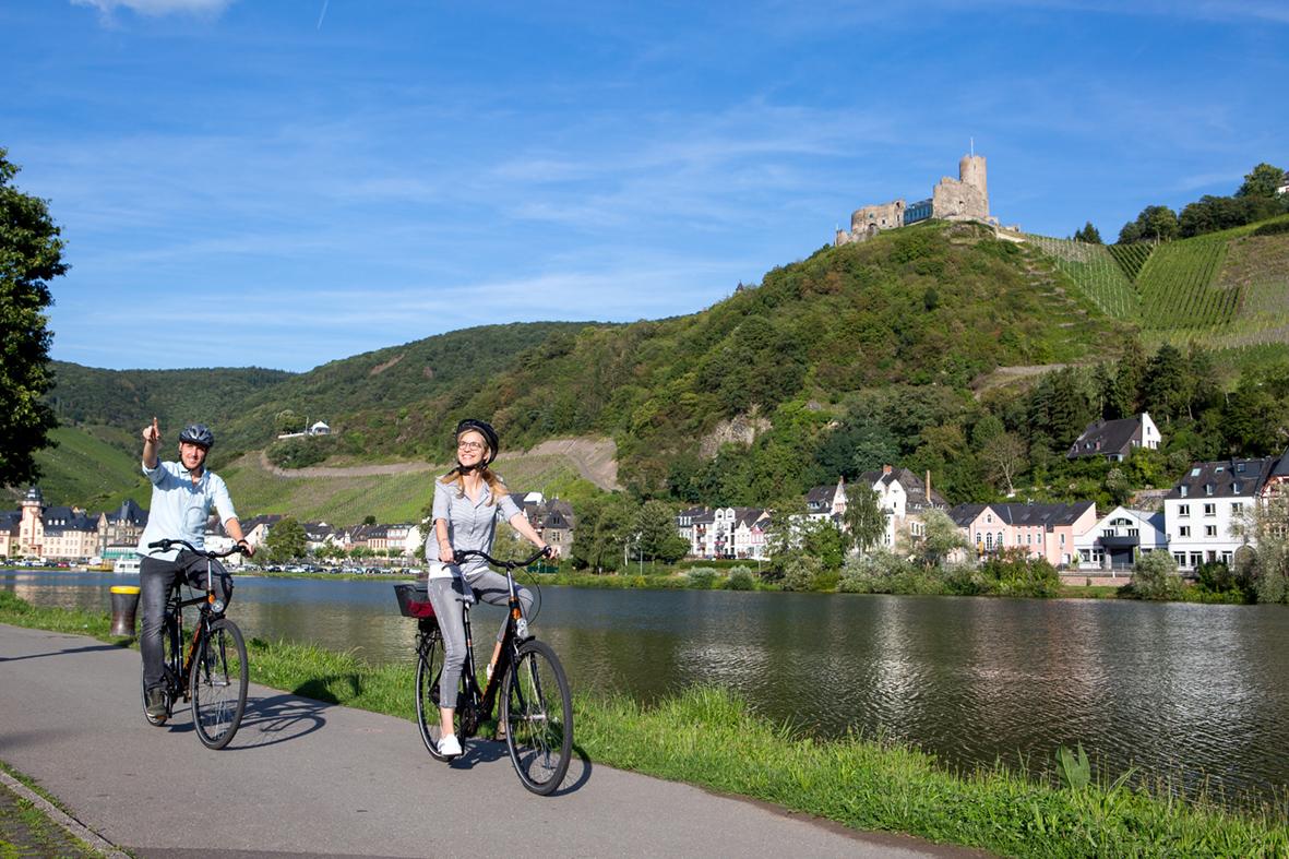Radfahren im Moseltal