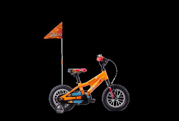Powerkid 12 Al Orange/Rot/Schwarz