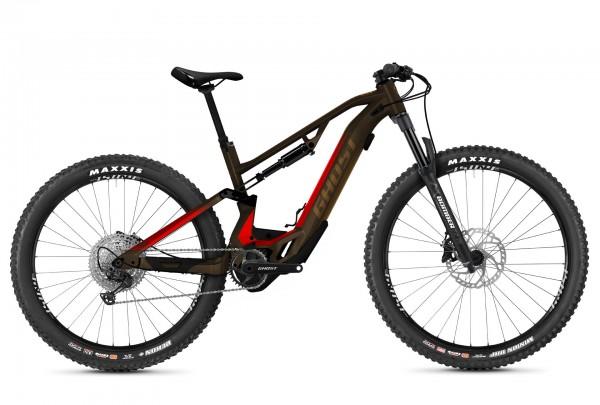 Ghost Hybride ASX Essential 130 AL Braun/Rot